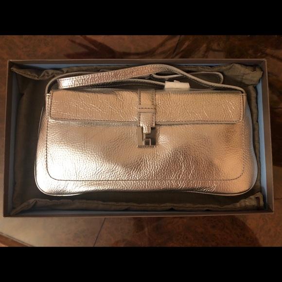 Lambertson truex Handbags - Lambertson truex silver clutch